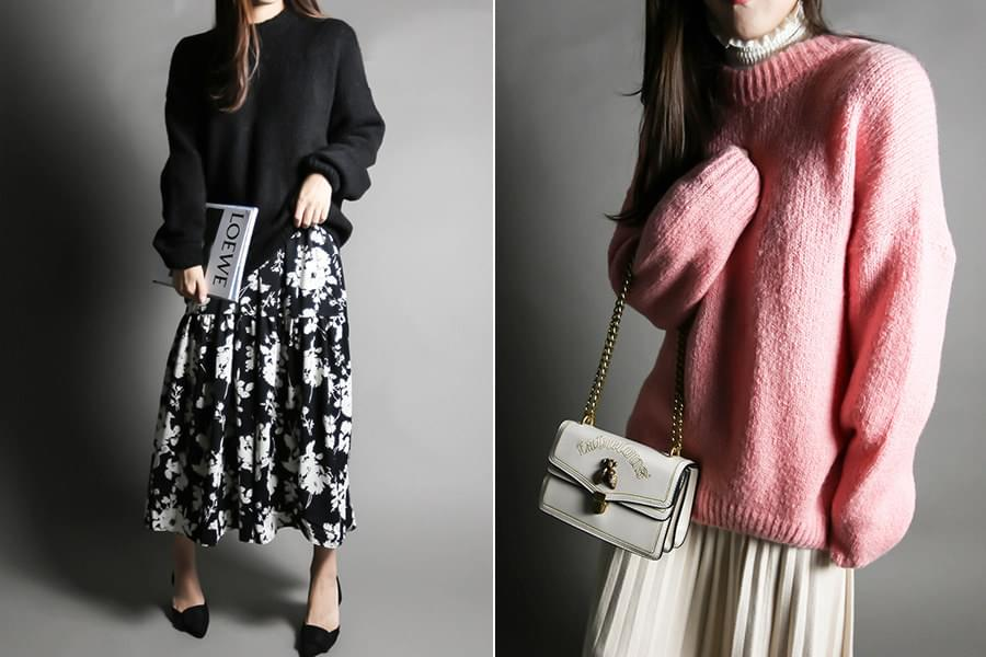 Basic overfit wool knit_kn03472