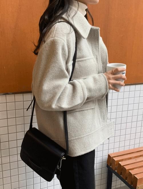 Pocket Wool Jacket _H