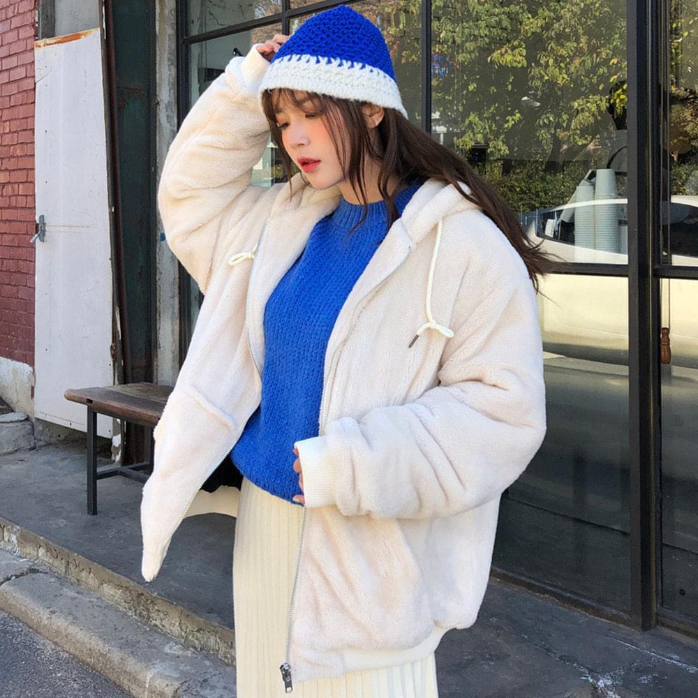 Shook hooded jumper