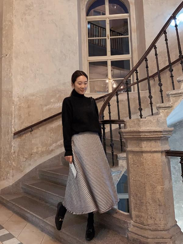 My-littleclassic / Chanay-tweed full skirt