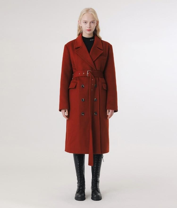 Lonely Belt Wool Coat