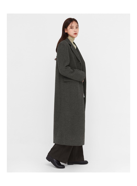 ami french tailored single coat