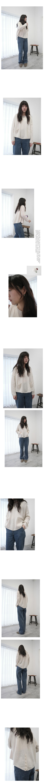 sheer alpaca pocket knit