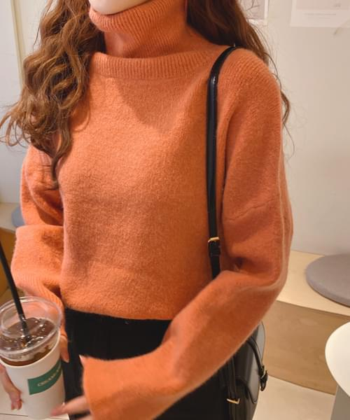 Pastel knit