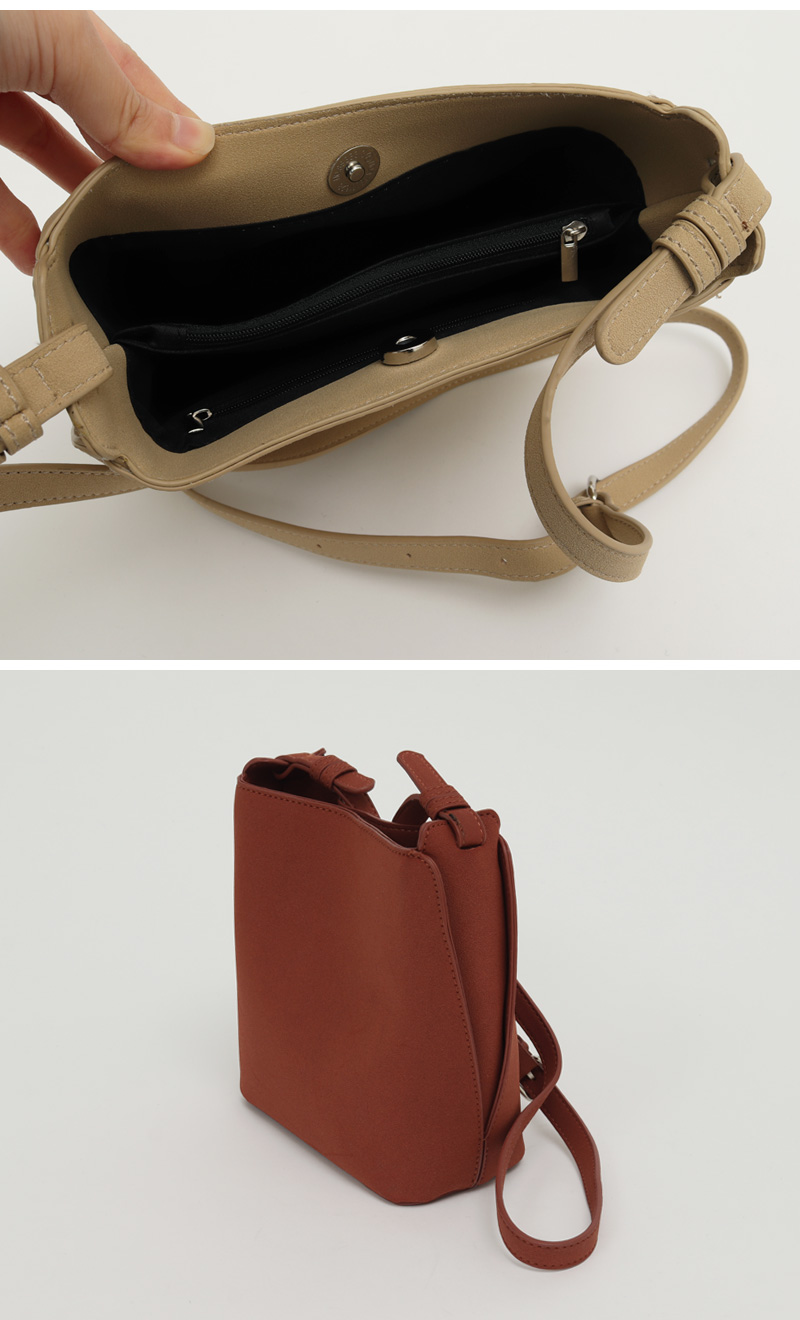 Side slit cross bag_H