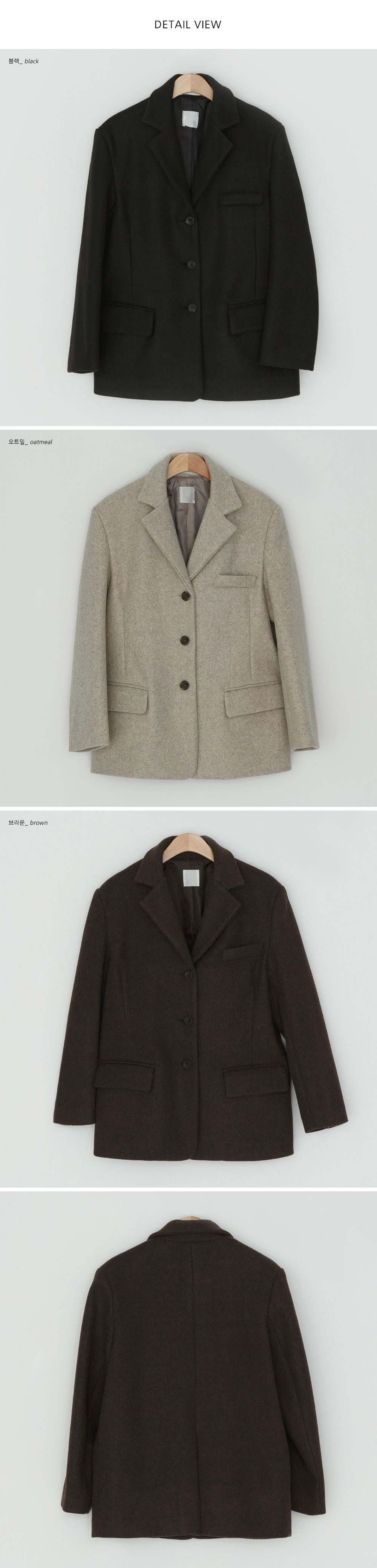 Manish single wool jacket-jk