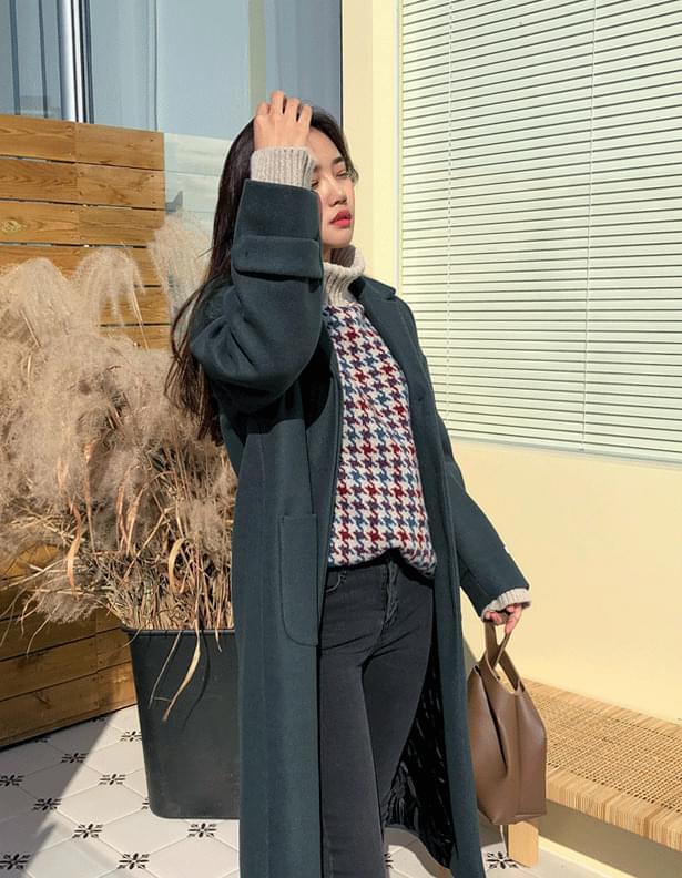 Zeppelin quilted coat