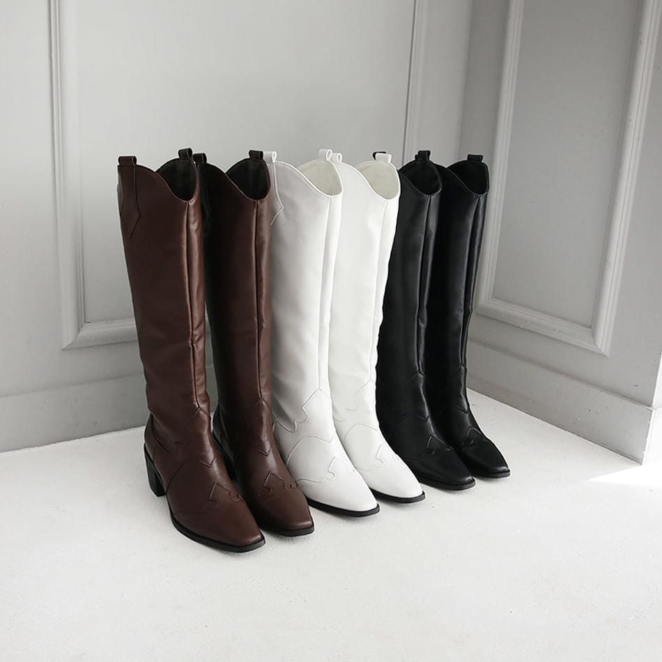 Mullia Western Long Boots 6cm