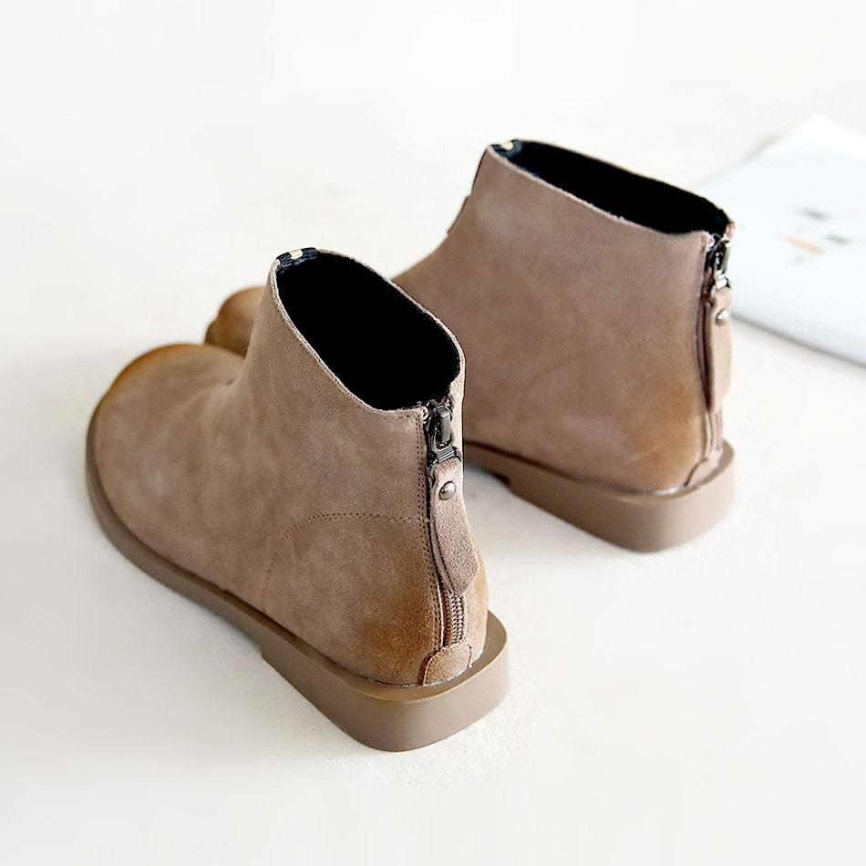 Pasca Leather Ankle Boots 2cm