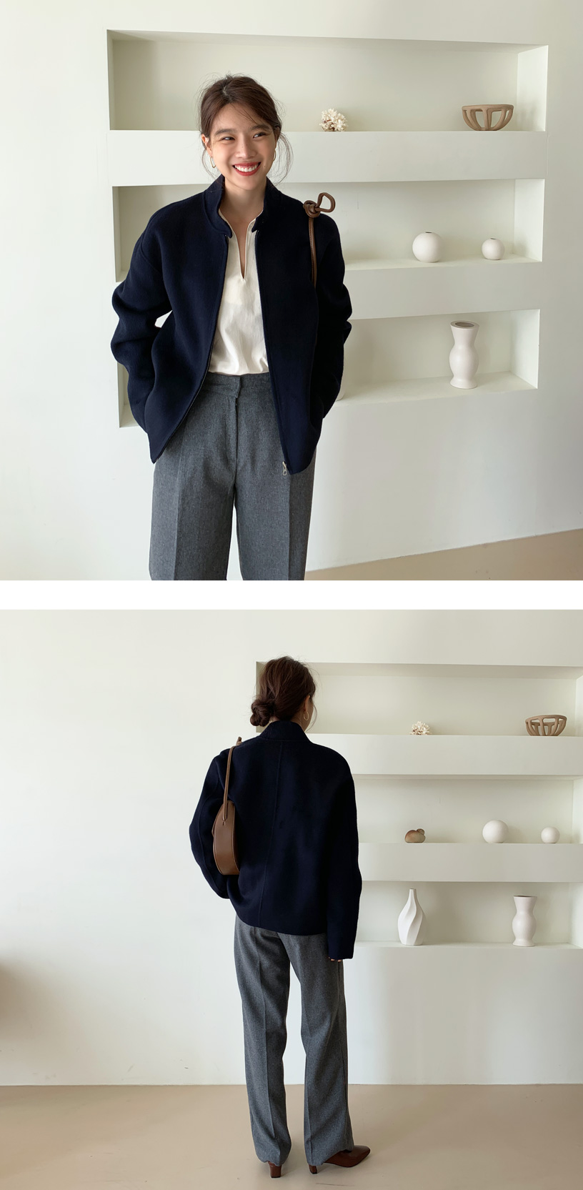 Tate handmade short jacket_C  (size : free)