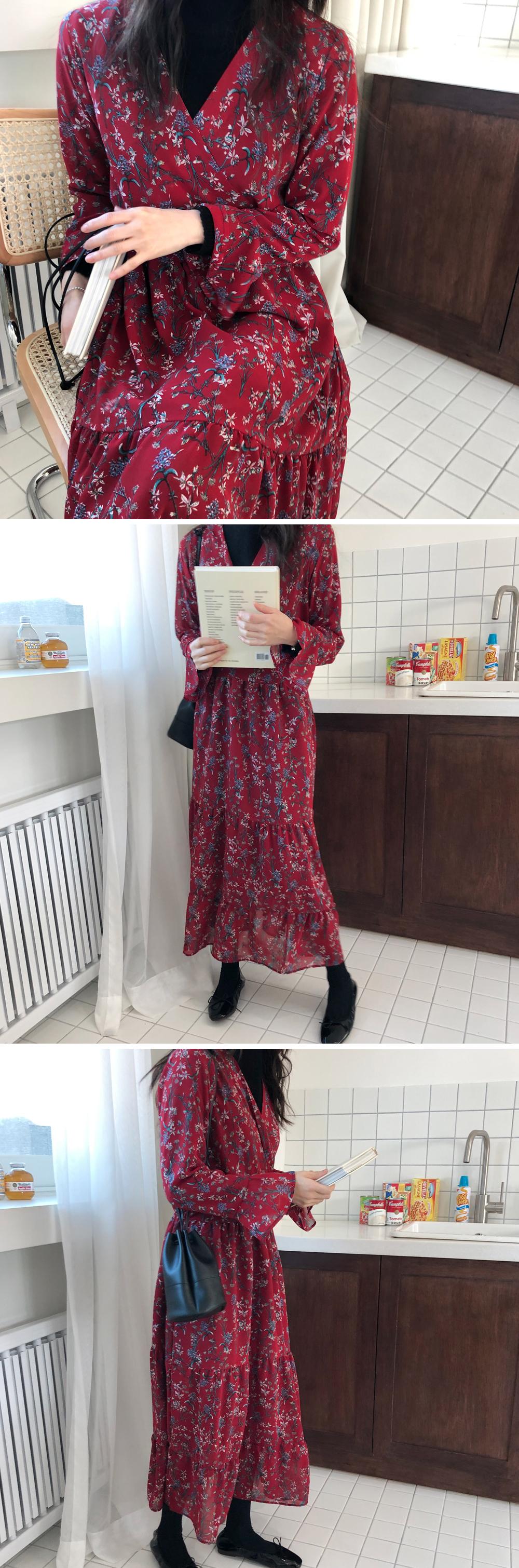 Label Vintage Chiffon Dress