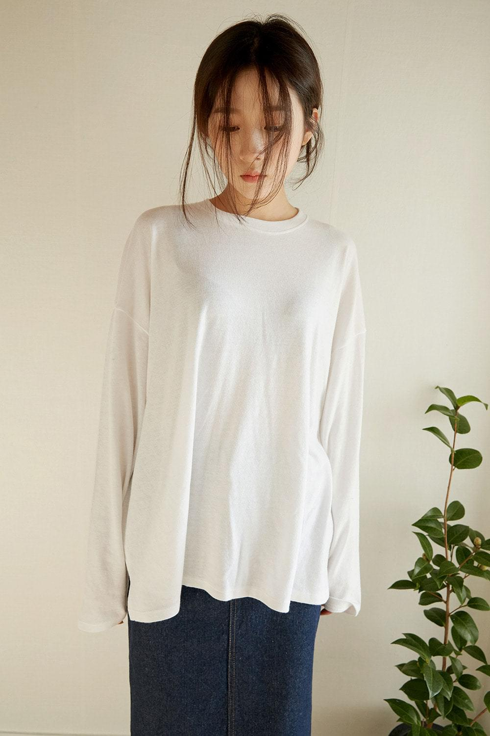 angora loose tee (5colors)