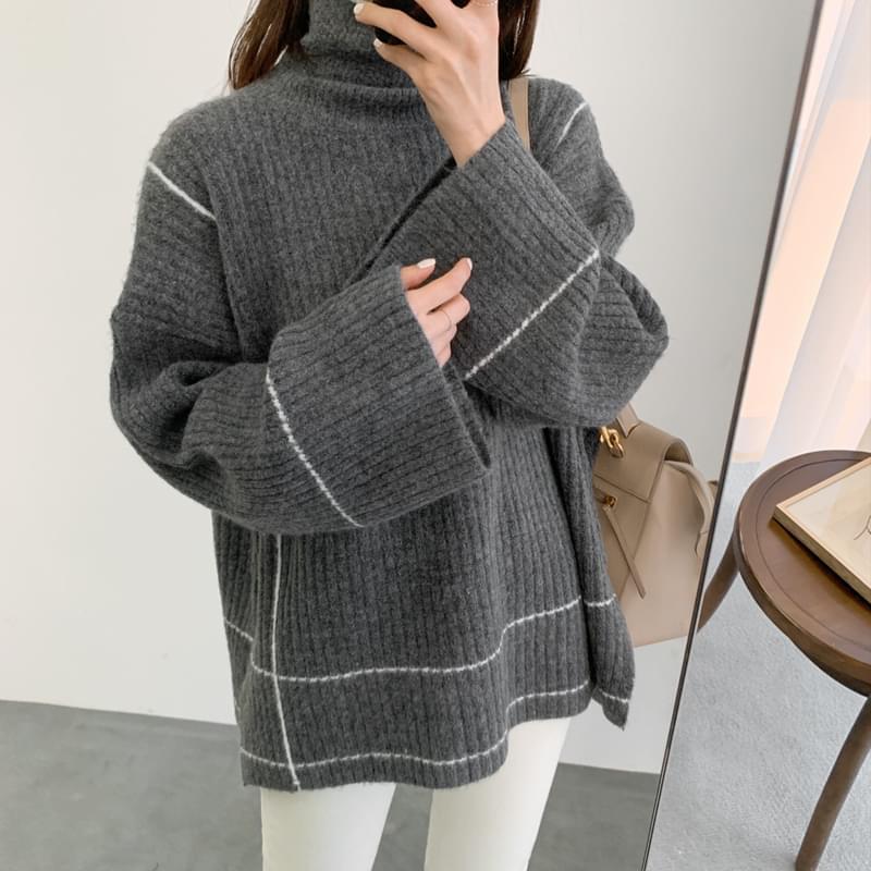 노아빈 knit (*3color)