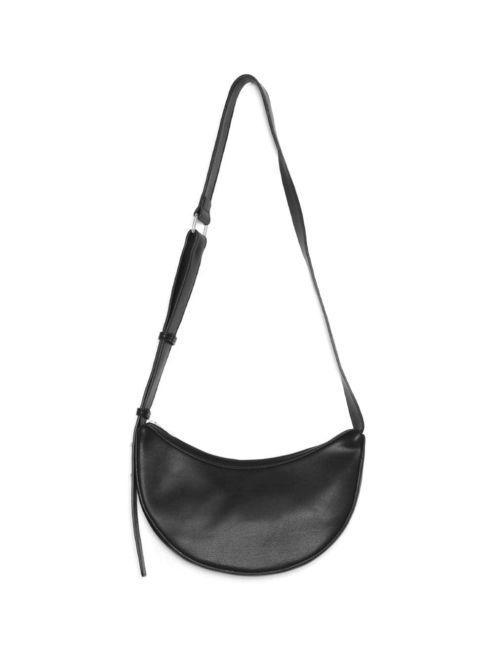 half moon leather bag (2 color)