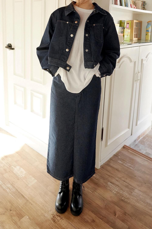 fabric denim skirts (denim)