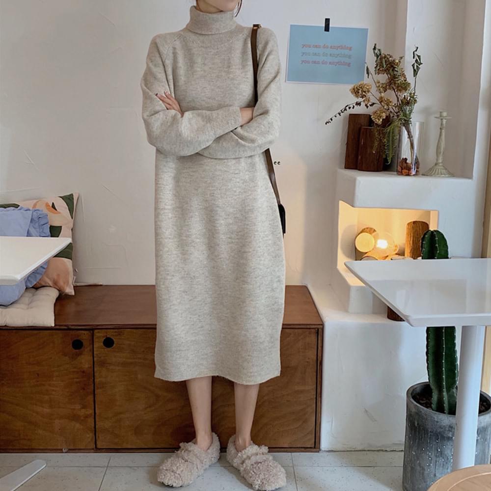 Edent Knit Polar Dress