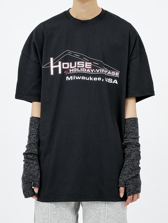 house 1/2 T (3 color) - woman
