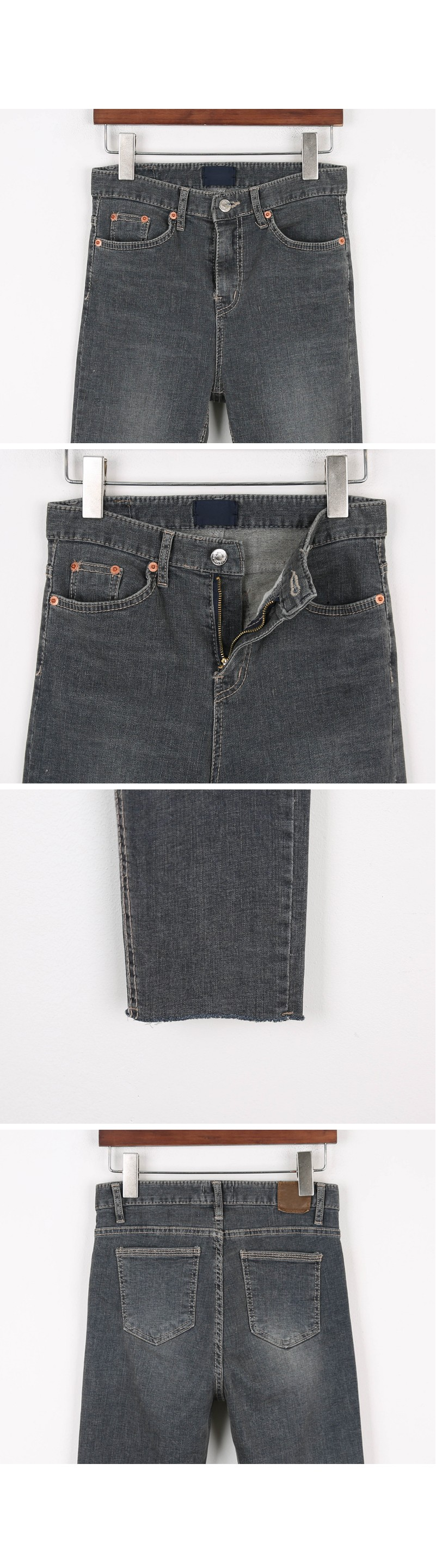 Dusty Slim Denim Pants