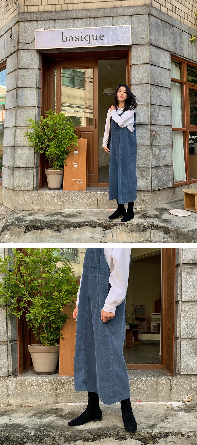 Simple suede flat loafer_Y