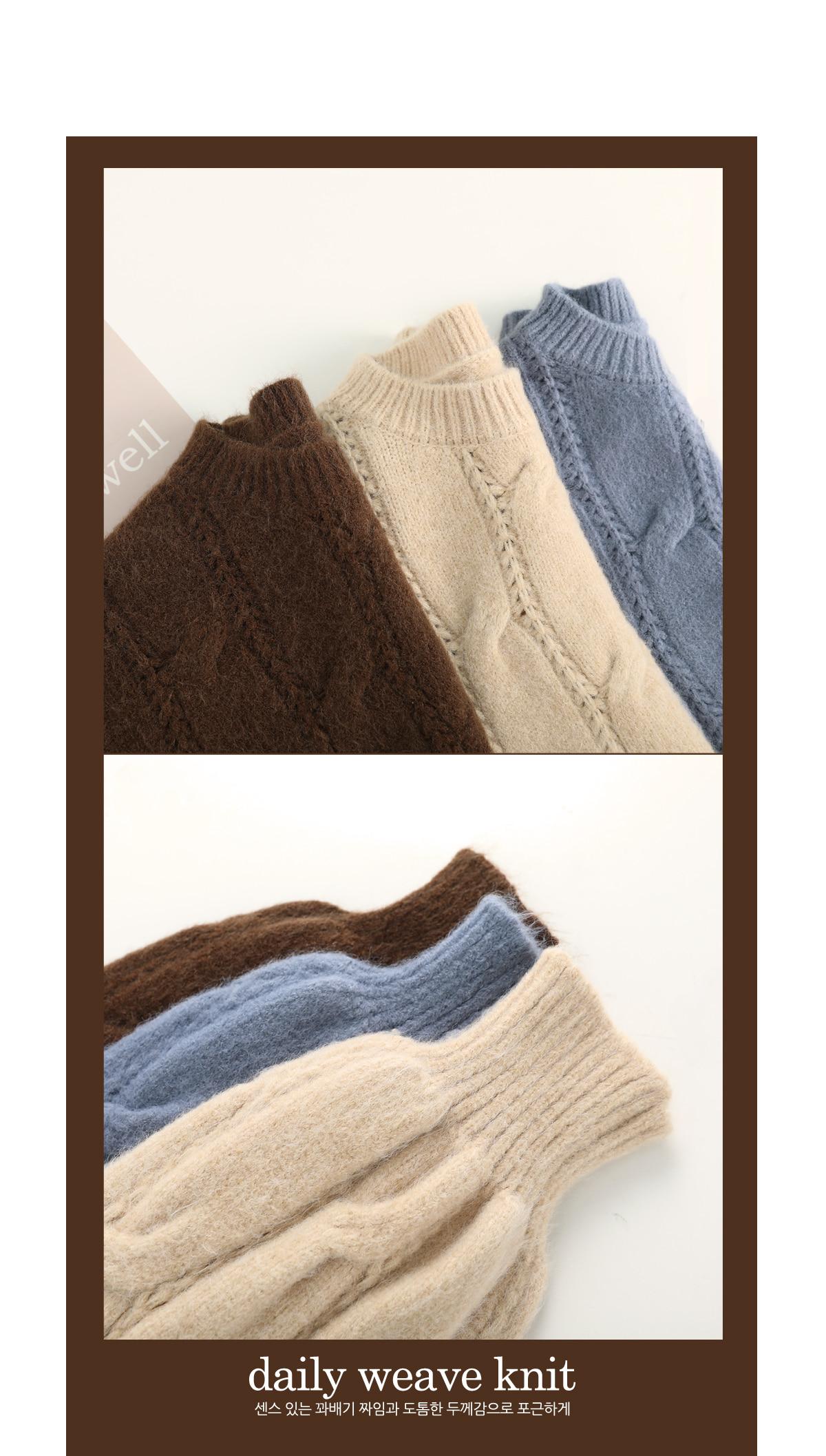 Liedo Tombs Exhaust Knit