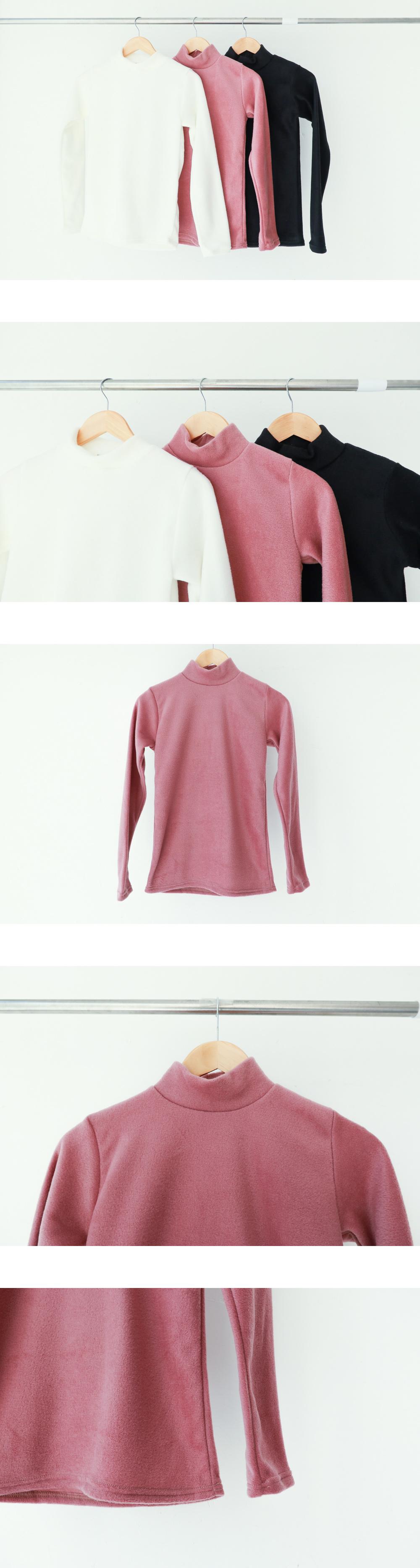 후리스 반폴라 티셔츠 (t0479)
