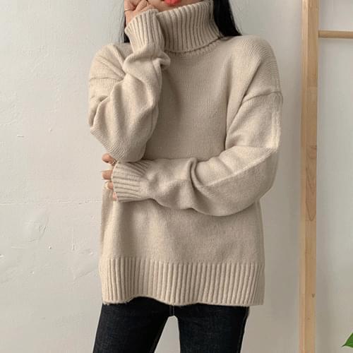 Top Turtleneck Knit
