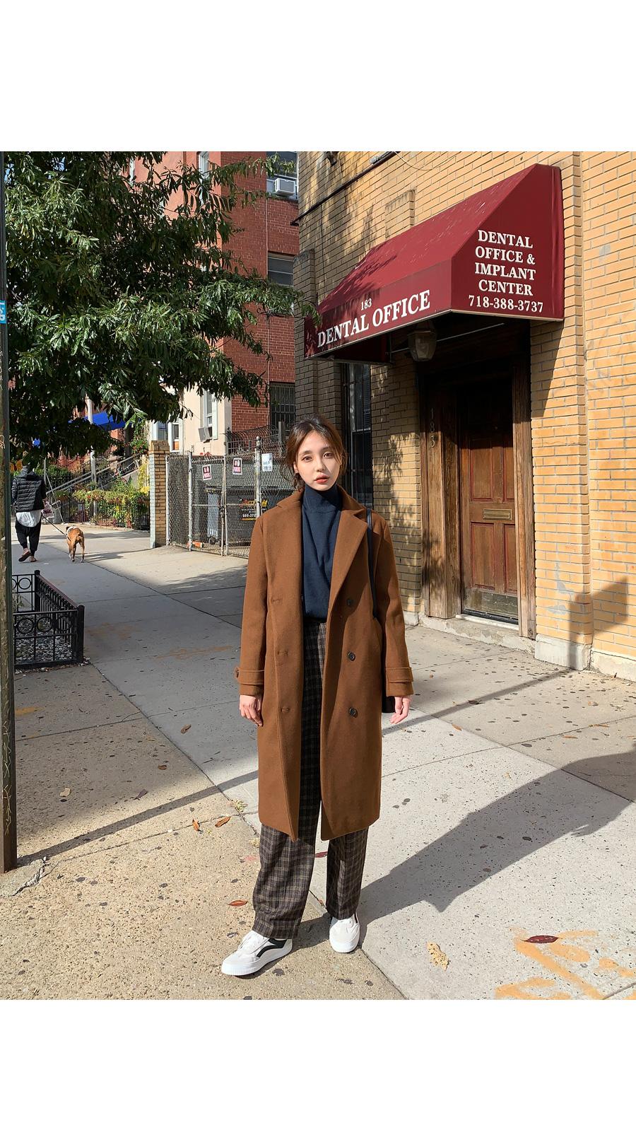 Martin wool double coat