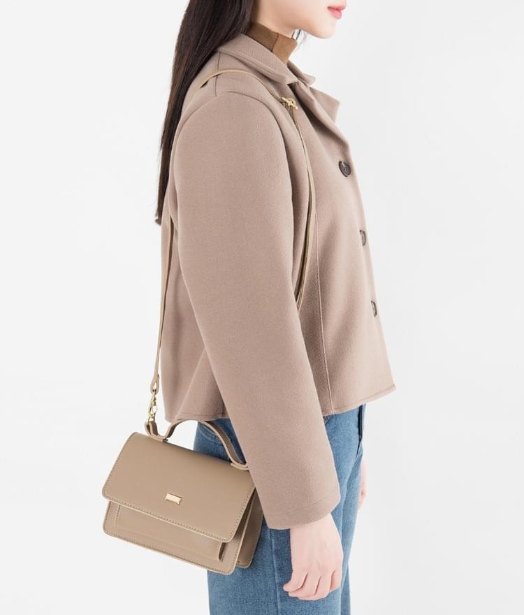 Cross square mini bag