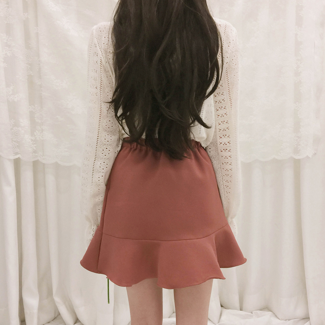 Mixmatch Skirt Pants