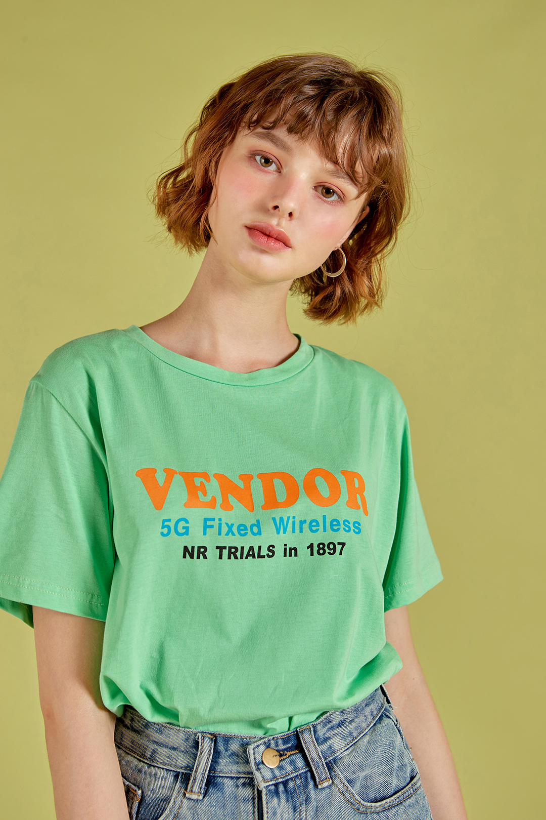 Bender lettering T-shirt