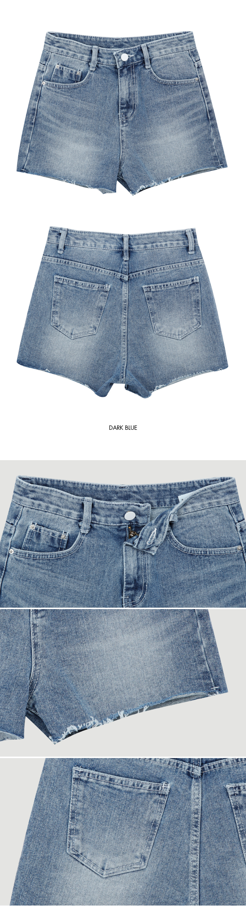 1327 Daily Washing Short Pants