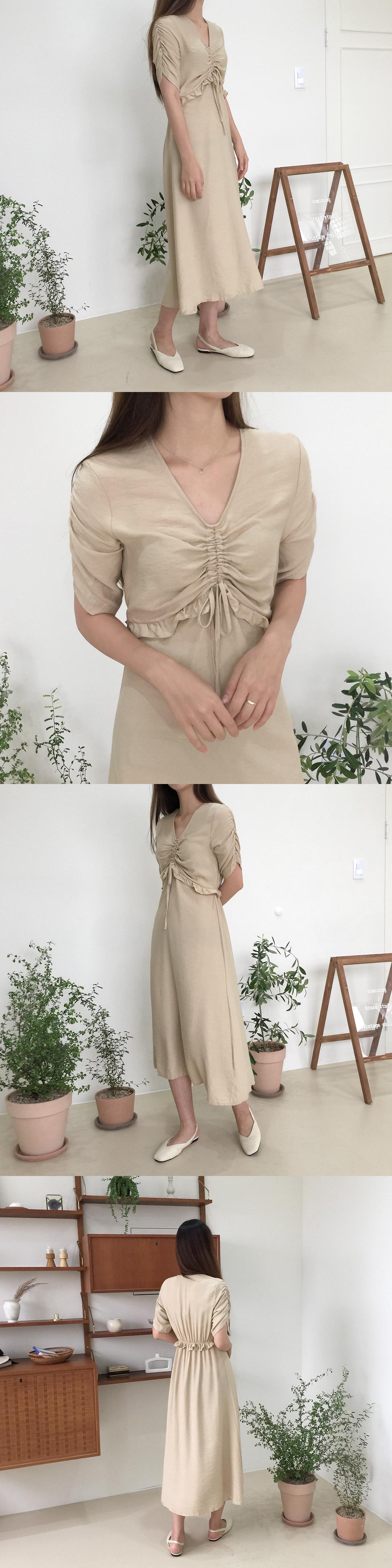 Mini String Long Dress