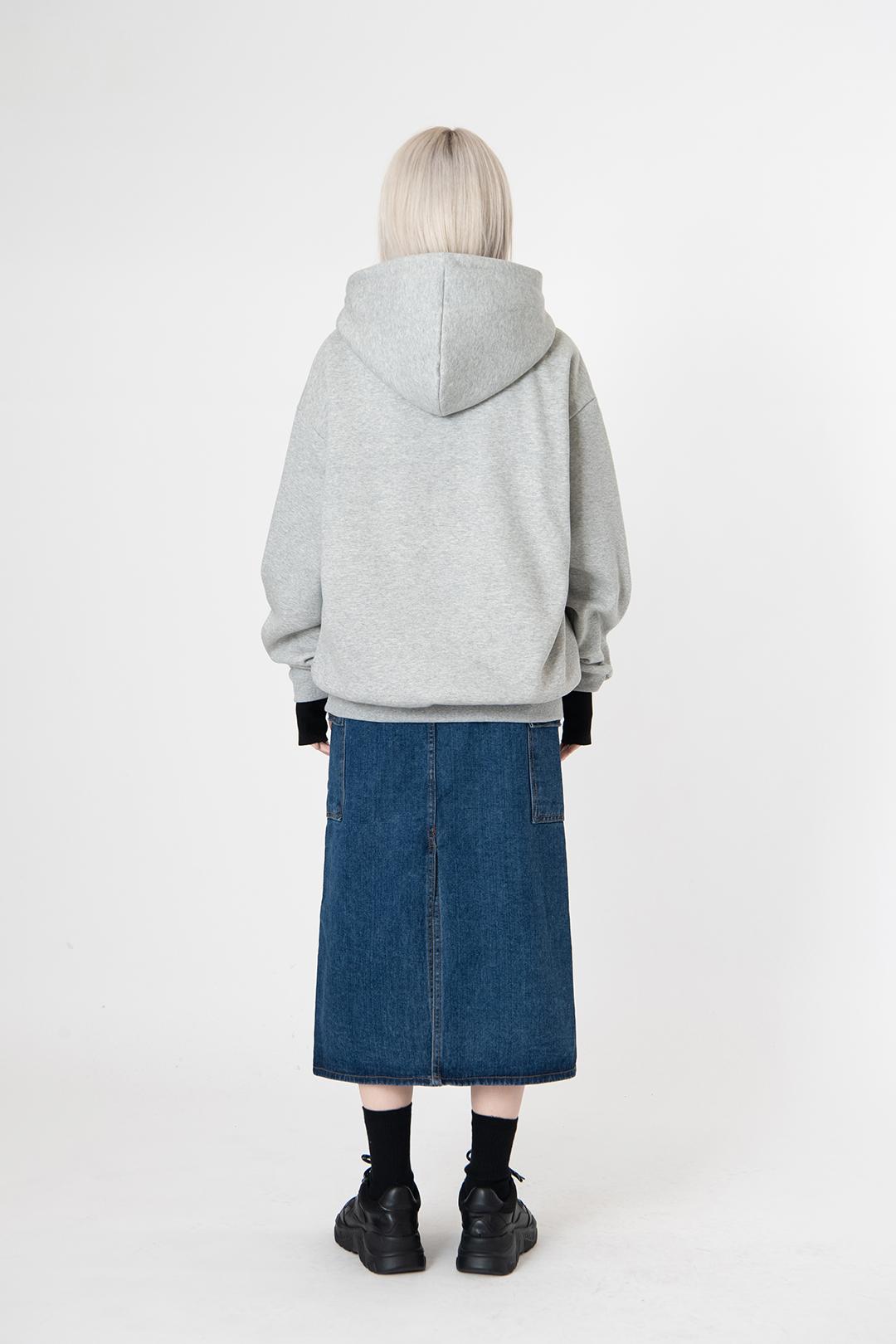 Brushed normal hood
