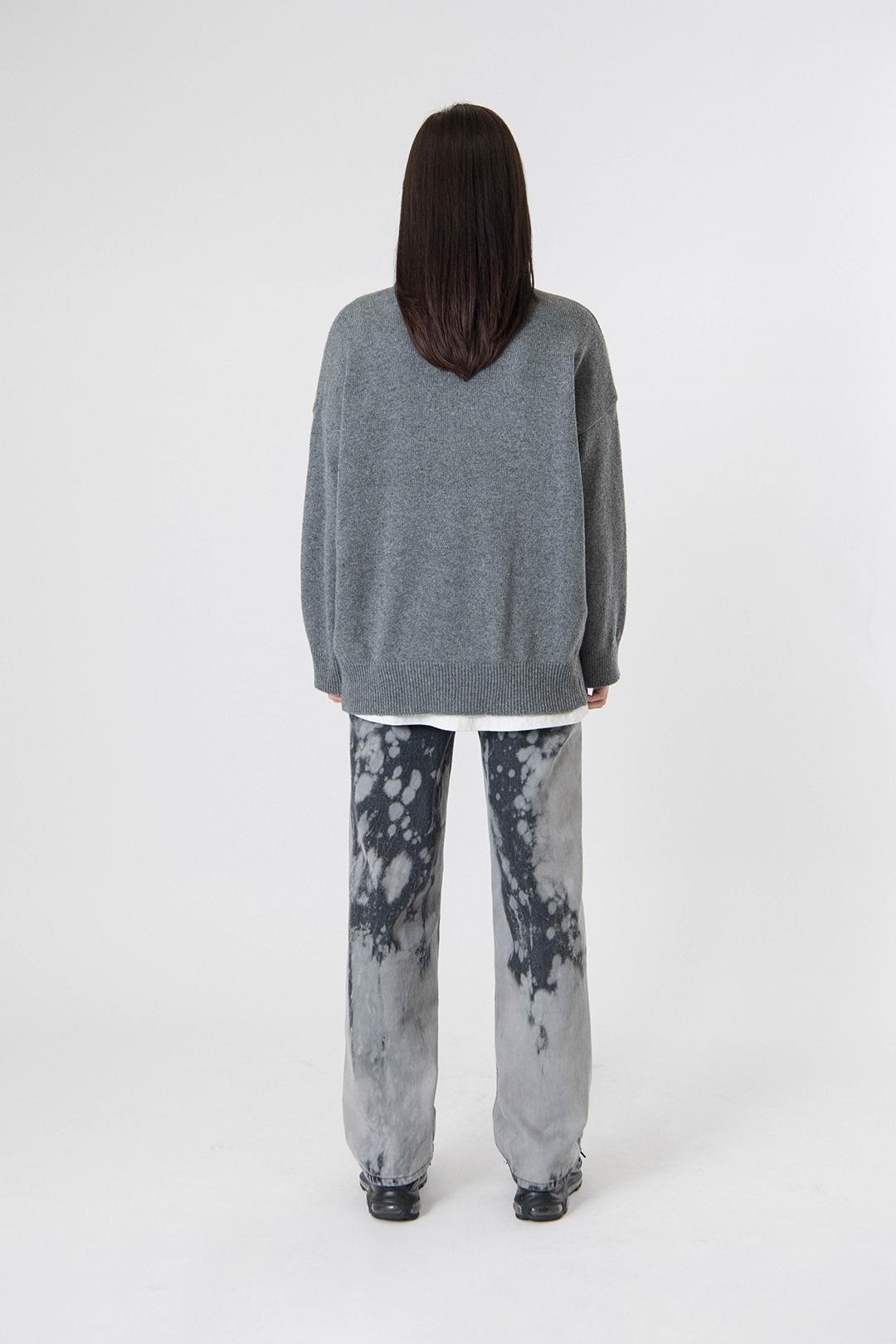 174 tie-dyed denim pants