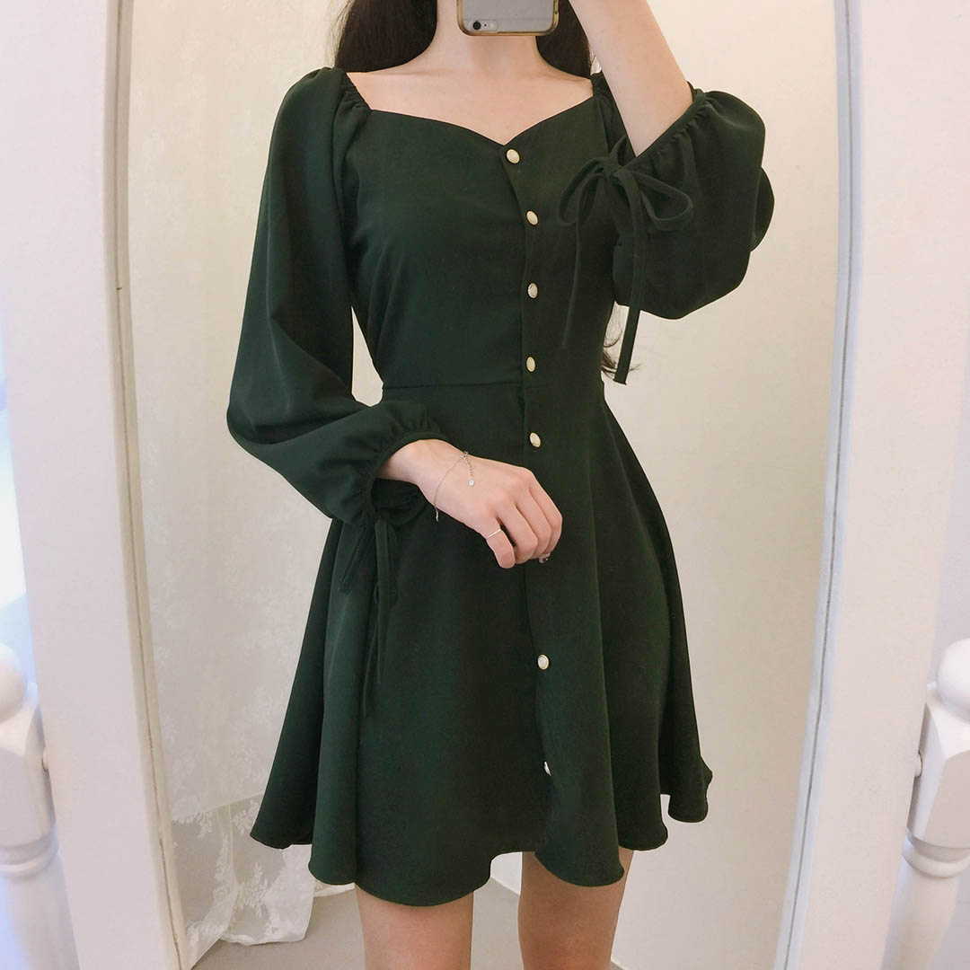 Bling Pearl Mini Dress