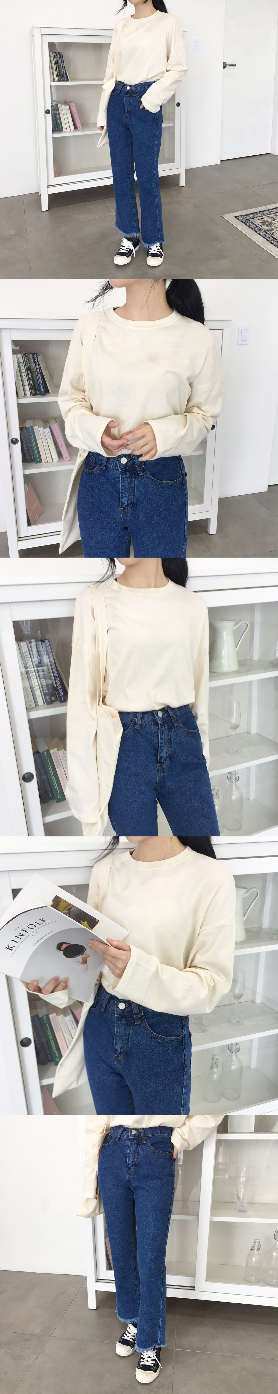 Loose-fit Cotton Top