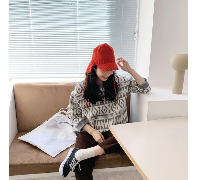 Wool earmuffs cap_C (울 100%) (size : one)