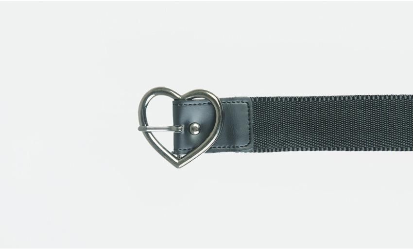 Heart Buckle Belt