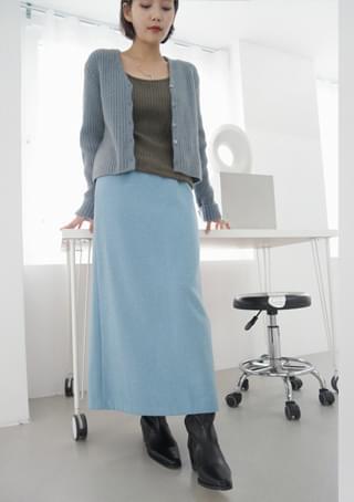 classic mood wool skirt (4colors)