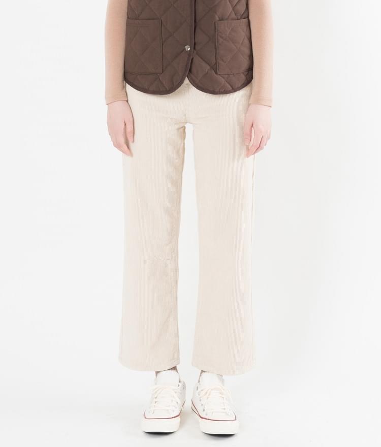 Sow corduroy pants