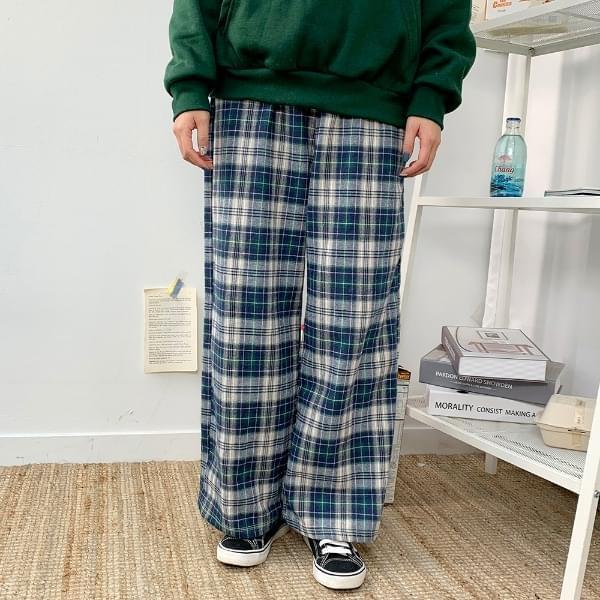 Vintage Long Check P 長褲