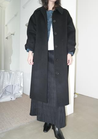handmade lazy belt coat (2colors)