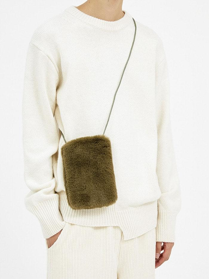 fur cross mini bag (5 color)