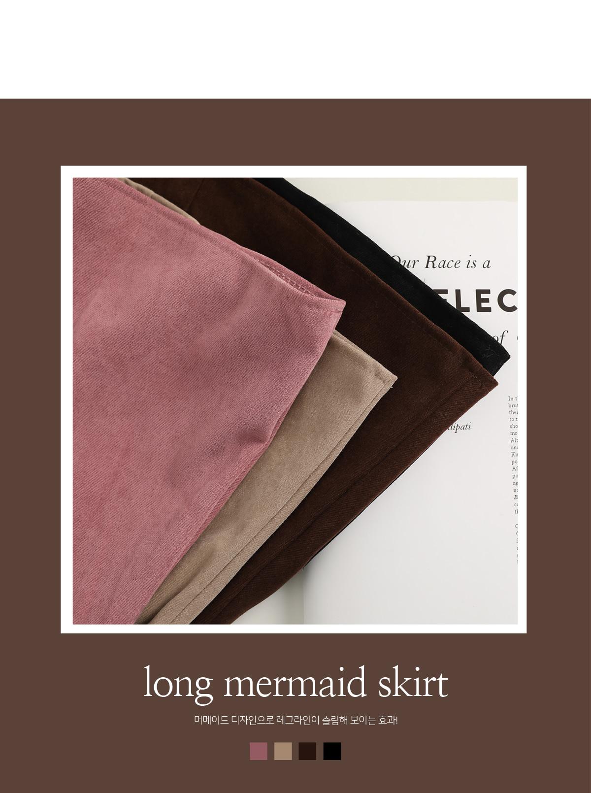 Musical Maid Wool Long Skirt