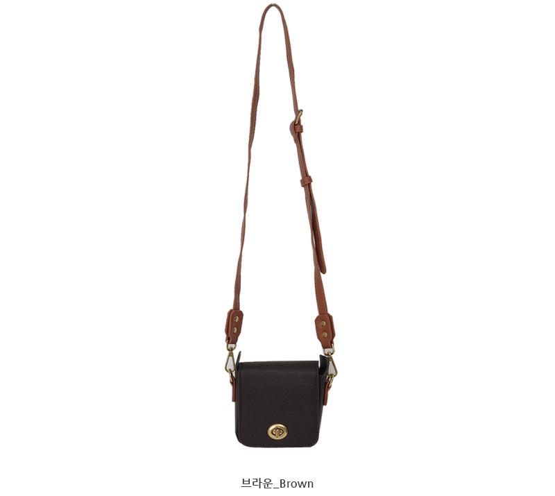 Pocket mini cross bag_Y (size : one)
