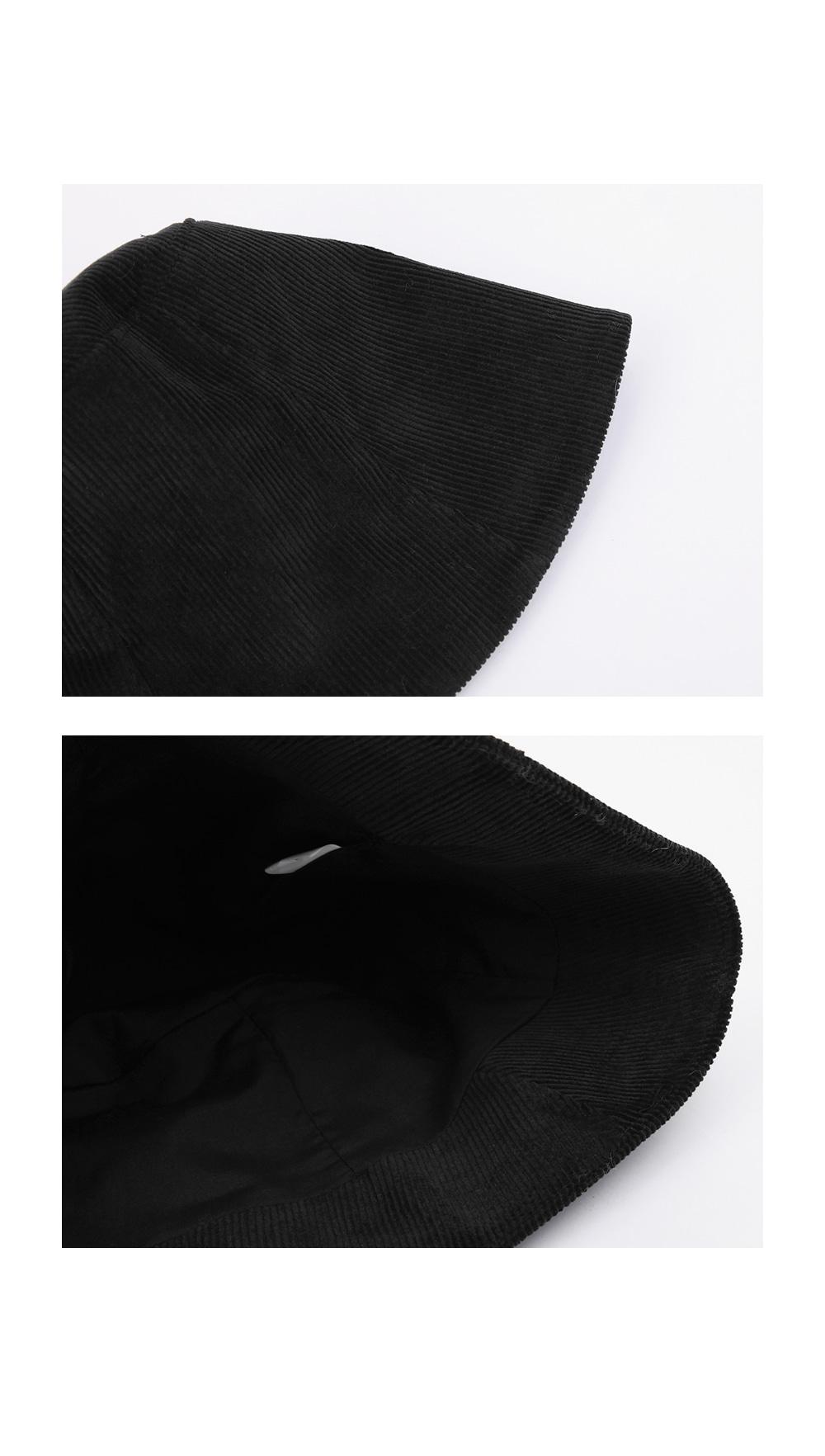 hip corduroy bucket hat