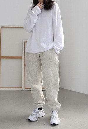 Warm jogger pants