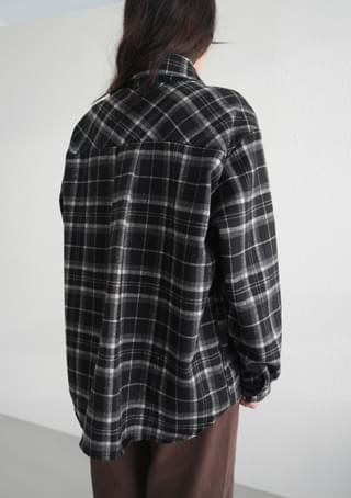 natural check shirt
