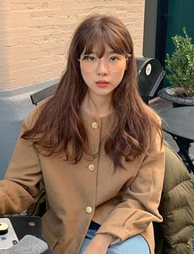 Simple round glasses_J
