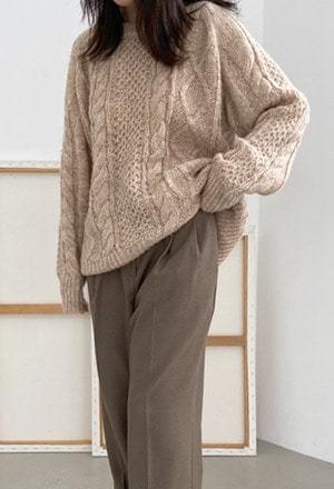 Soft twist knit (2colors)